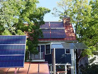 Hone-Schmidt Solar House - Minnesota