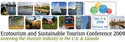 2009 Ecotourism and Sustainable Tourism Conference (ESTC)